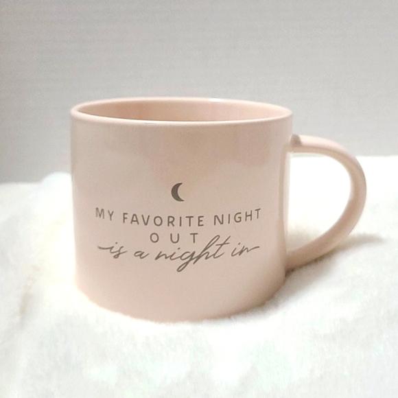 Threshold porcelain light pink mug
